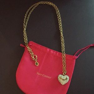 Juicy Couture heart 💛necklace